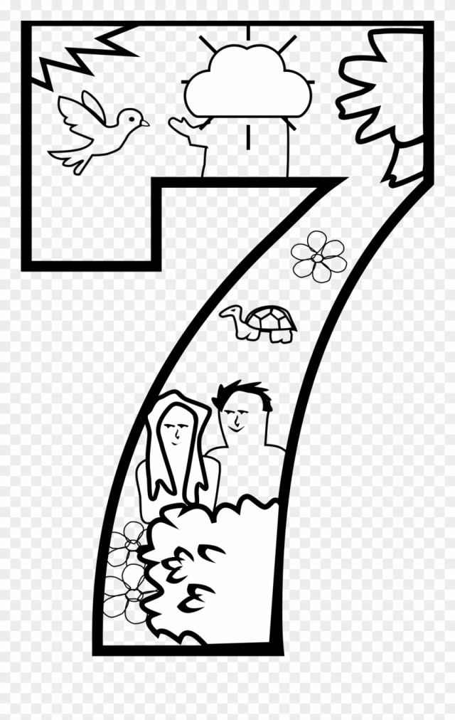 Day 25 Of Creation Coloring Page - Creation Day 25 Coloring Pages