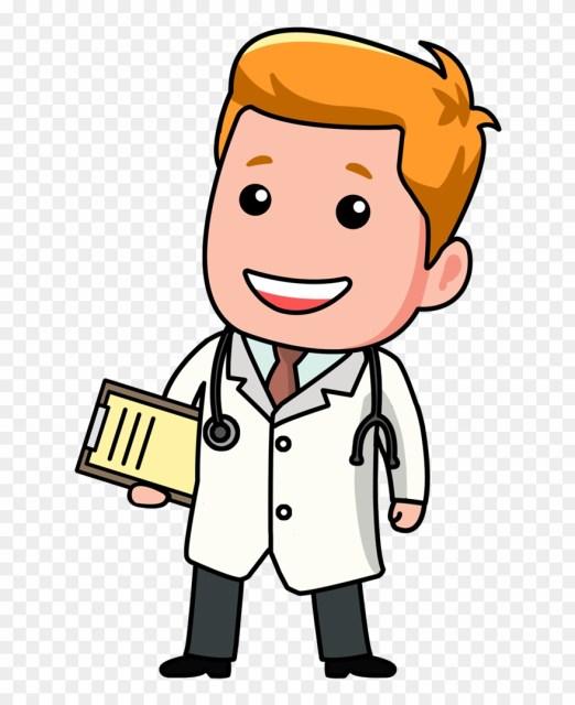 Cara Menggambar Dokter