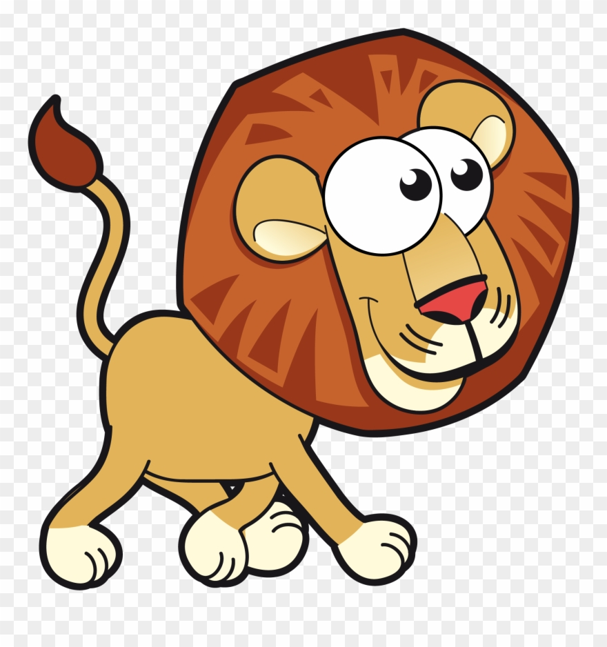 Revolutionary Really Cute Cartoon Animals Lion Card Cartoon Animal Vector Png Clipart 803468 Pinclipart