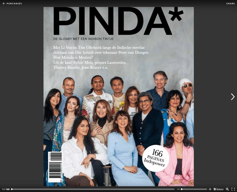 In het buitenland? En toch PINDA* – de glossy met een Indisch tintje – lezen? Dat kan digitaal, bestel 'm hier.