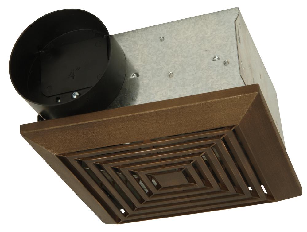 50 cfm bathroom exhaust fan bronze