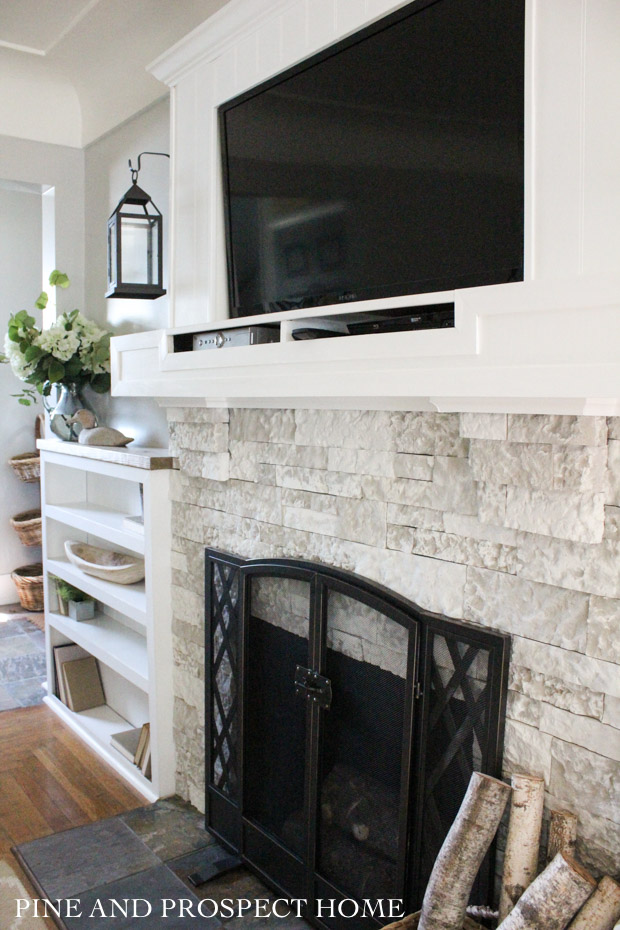 fireplace diy