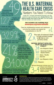 The US Maternal Health Care Crisis infographic - The US Maternal Health Care Crisis infographic