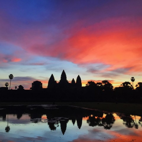 The amazing Angkor Wat at sunrise!
