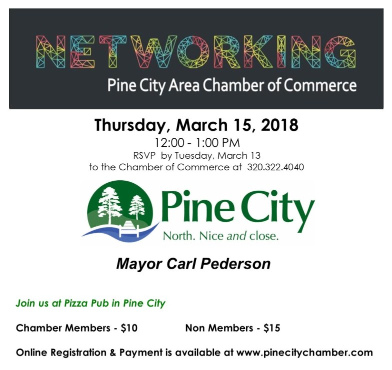 March 15 Networking Lunch Invite