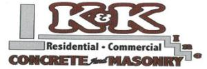 K & K Concrete & Masonry Logo