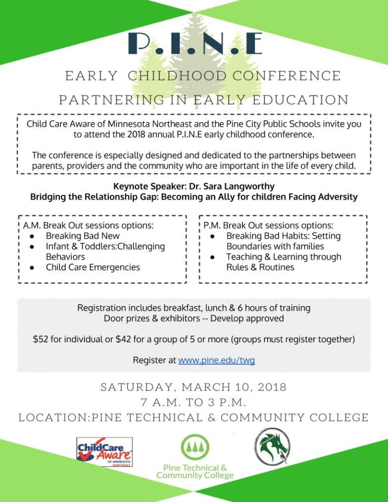 Registration info for the March 10, 2018 conference