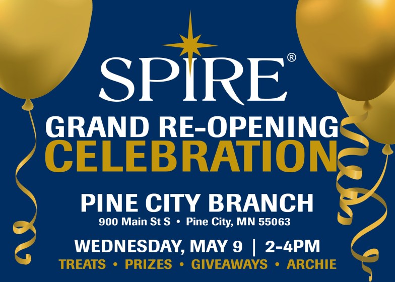 Grand Re-opening Event at Spire on May 9th