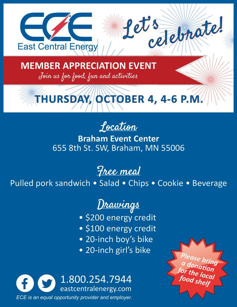 ECE Member Appreciation Event October