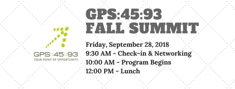 Fall Summit for GPS:45:93 Invite