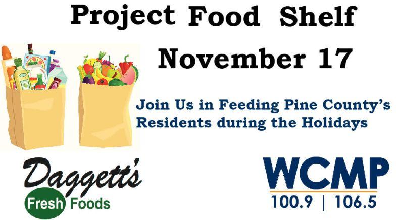 Project Food Shelf on November 17th