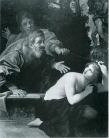 Figure 2 Susanna and the Elders, 1616 Ludovico Carracci,