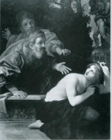 Figure 2 Susanna and the Elders, 1616 Ludovico Carracci,