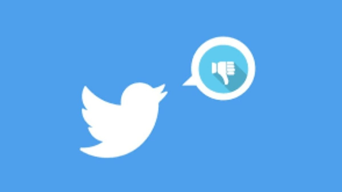 Twitter Dislike Özelliğini Denemeye Başladı!