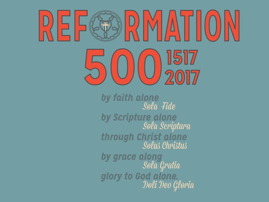 5 Solas of the Reformation