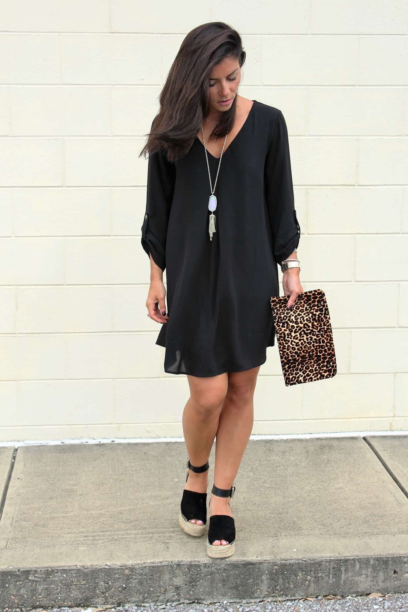 Little black dress under $50 - Pines and Palms
