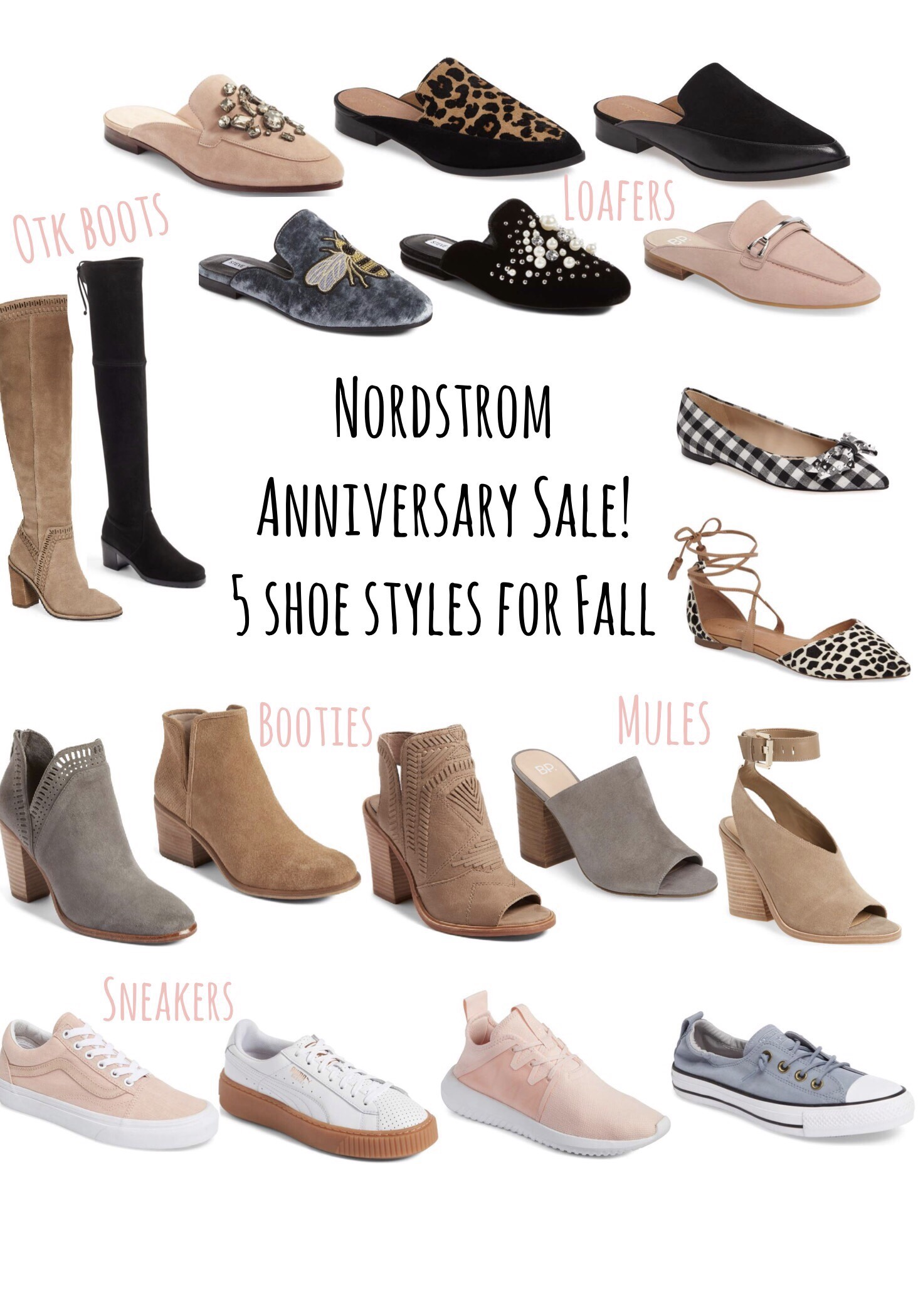 Friday Five  Shoe Styles You Need For Fall Pines And Palms