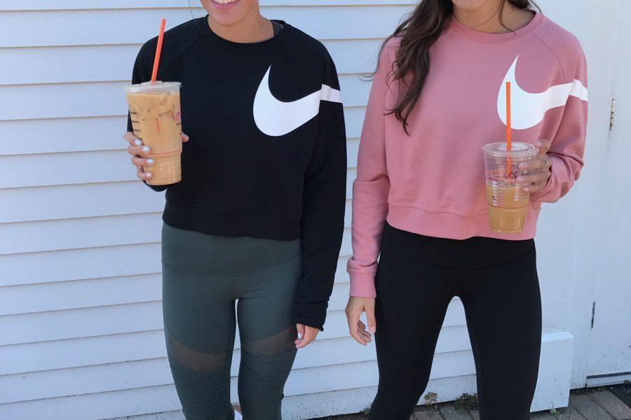 nike, twins, workout