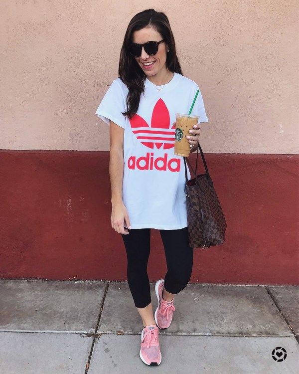 tee, adidas