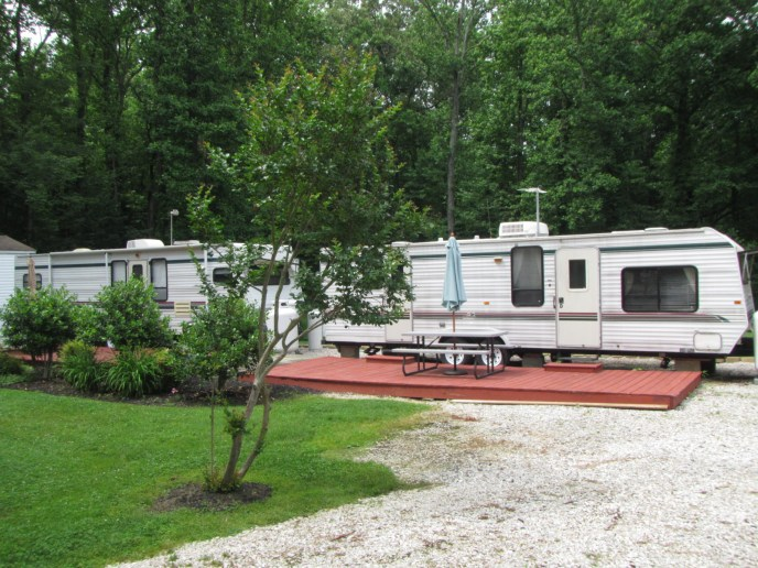 Rental Trailer - Unit F, the Ferndale.