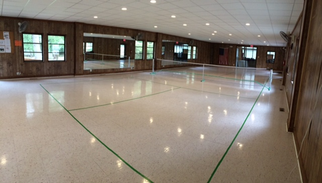 Keyes Hall Pickleball Court