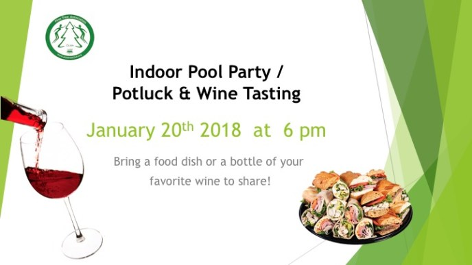 Wine Tasting and Pool Party