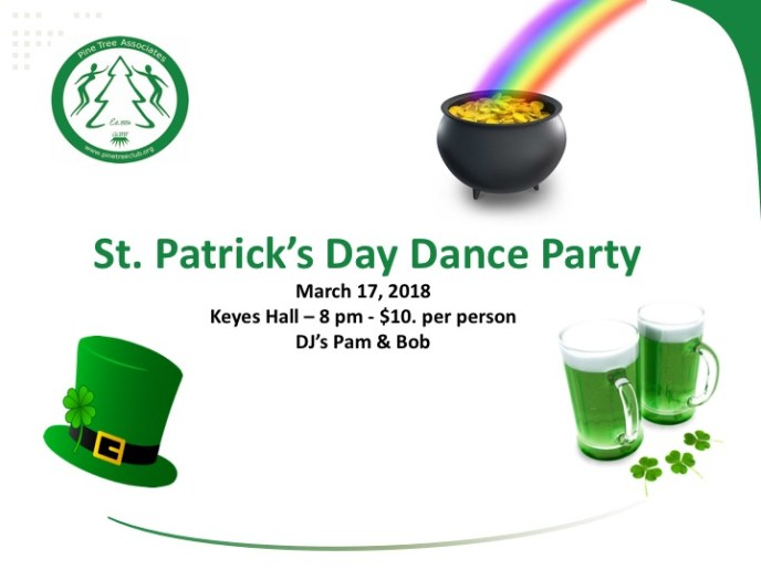 St. Patrick's Day Dance Flyer