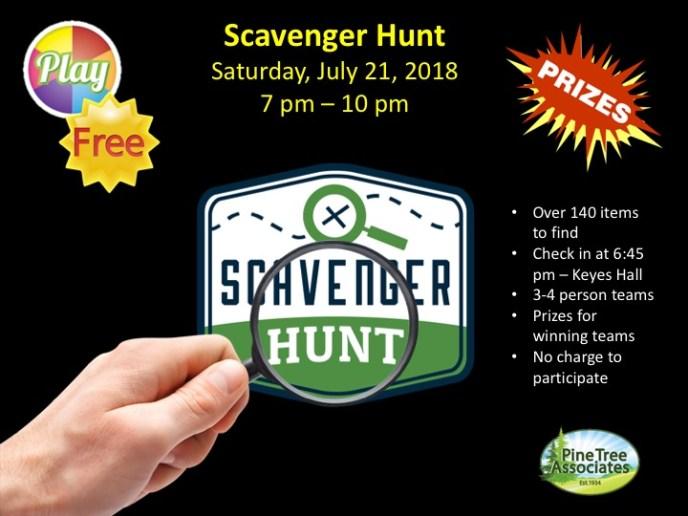 Scavenger Hunt 2018