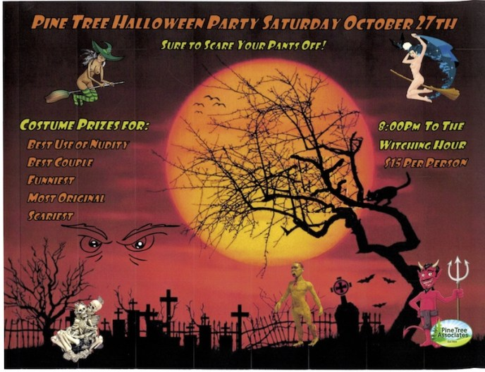 Pine Tree Halloween Party 2018
