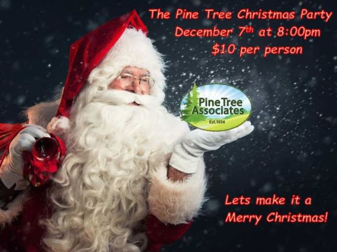 Pine Tree Nudist Club Christmas Party 2019