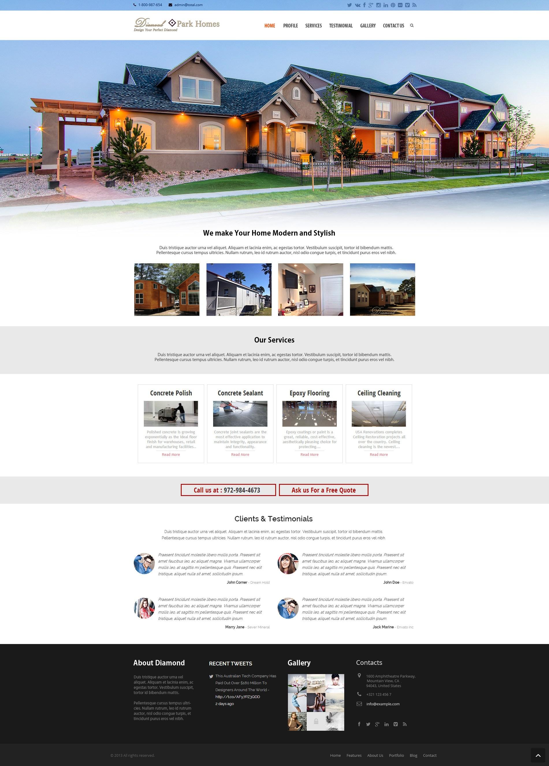 Diamond Park Homes