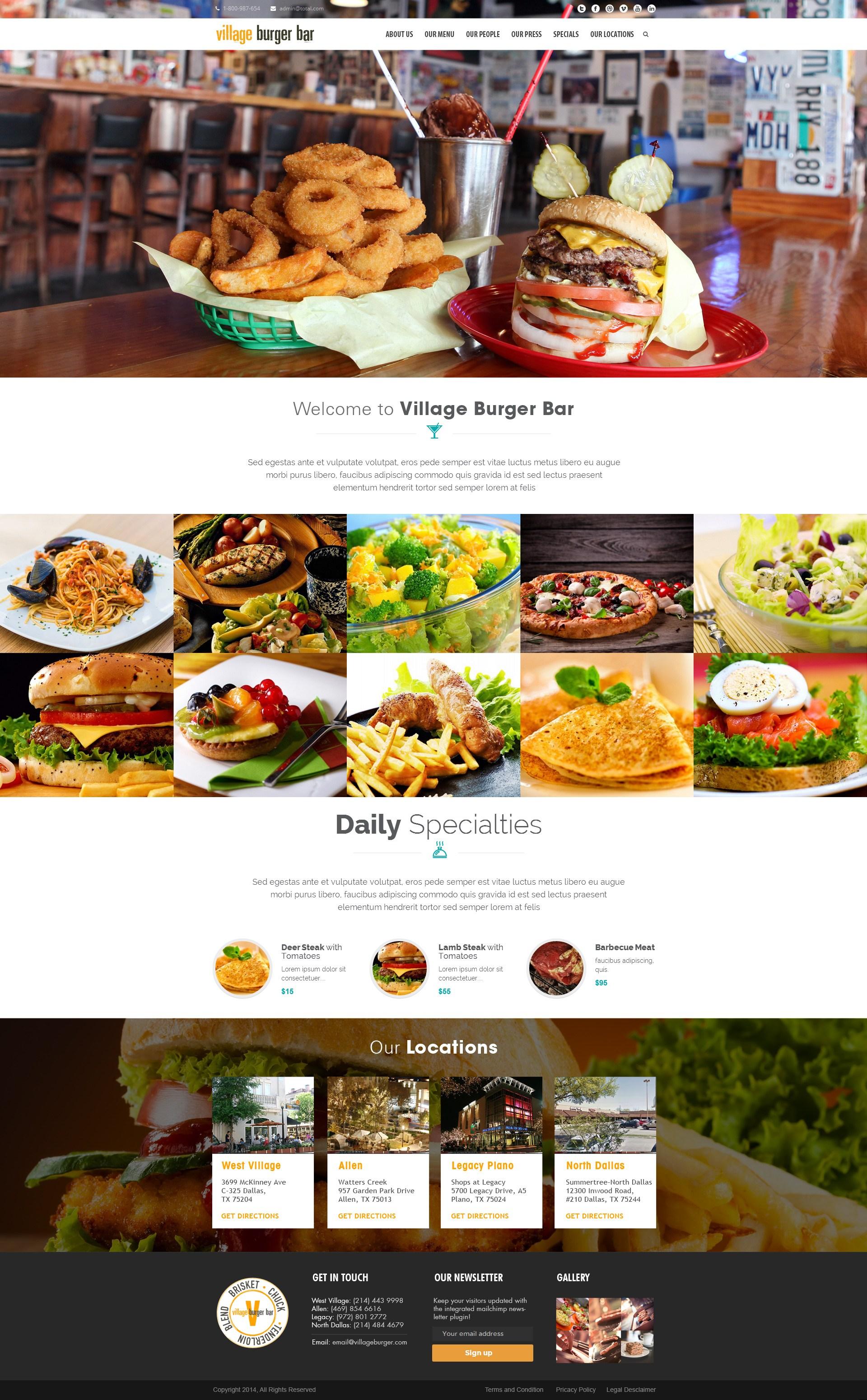 Village Burger Bar