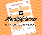Maaltijdplanner: Gratis download