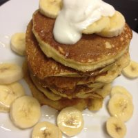 Lekkere gezonde banaan-havermout pancakes