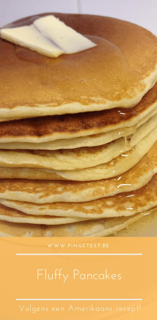 Luchtige pancakes bakken - Amerikaanse pancakes maken - gemakkelijk recept - Amerikaanse pannenkoek