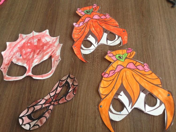 Maskers knutselen download