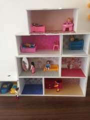 Poppenhuis maken van Action ladekast | DIY poppenhuis| PinGetest