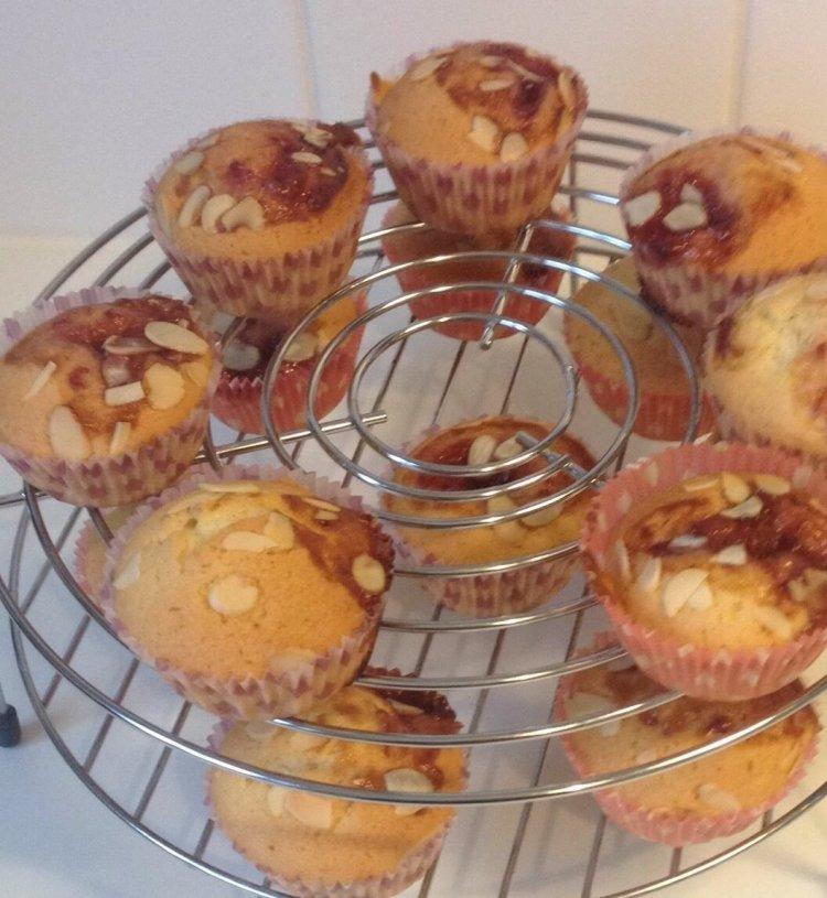 Vanille cupcakes maken confituur