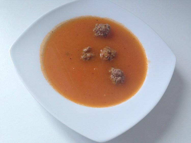 Tomatensoep met balletjes - PinGetest