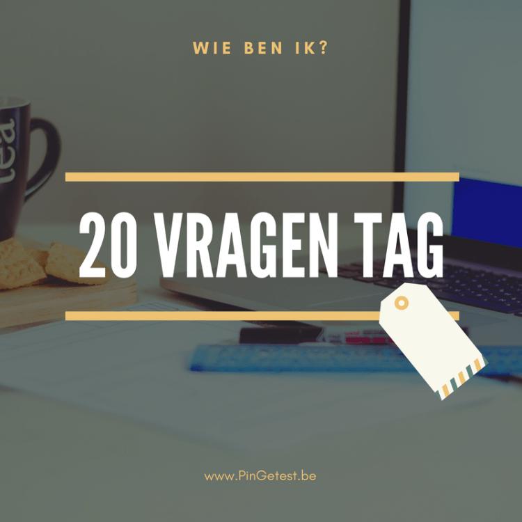 20 vragen tag - mamablogger PinGetest