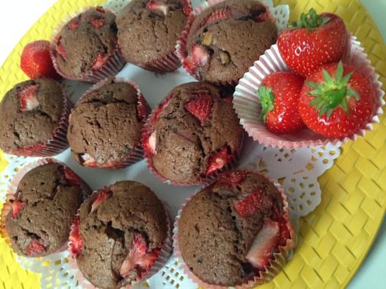 chocolade cupcake recept
