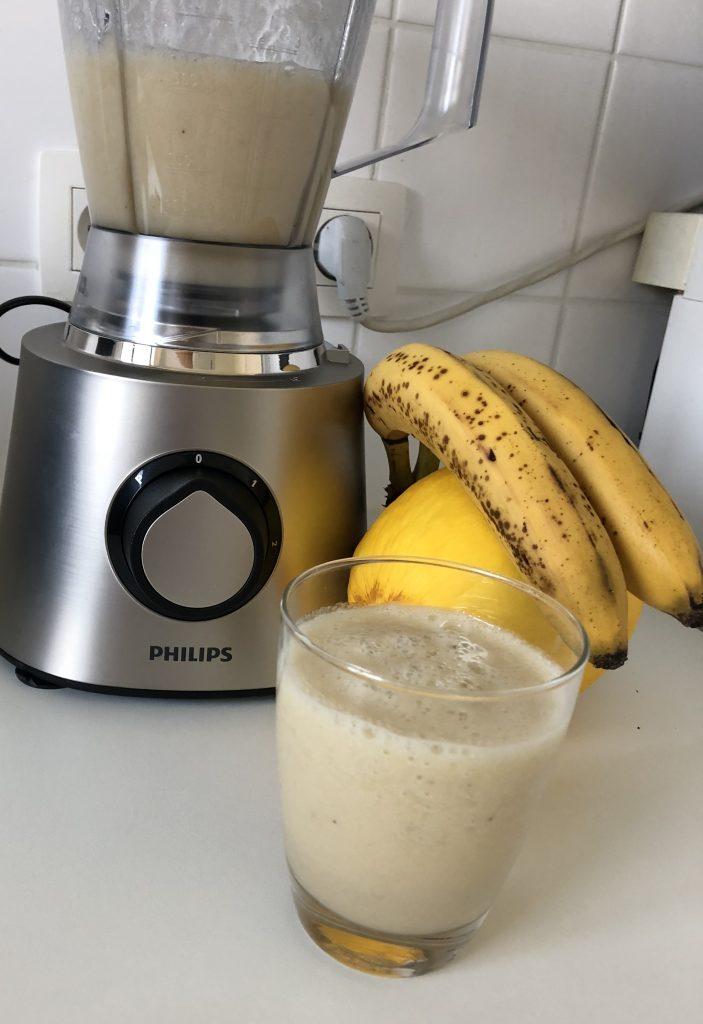 meloen peer banaan smoothie maken