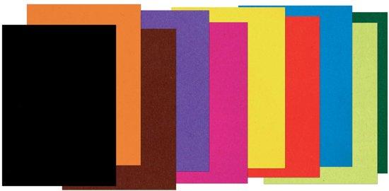 Gekleurd tekenpapier formaat 21 x 297 cm (A4)
