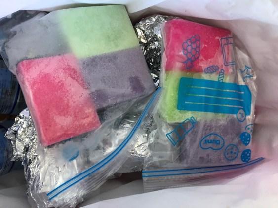 Zelf koelelement maken voor koeltas - diy ice pack