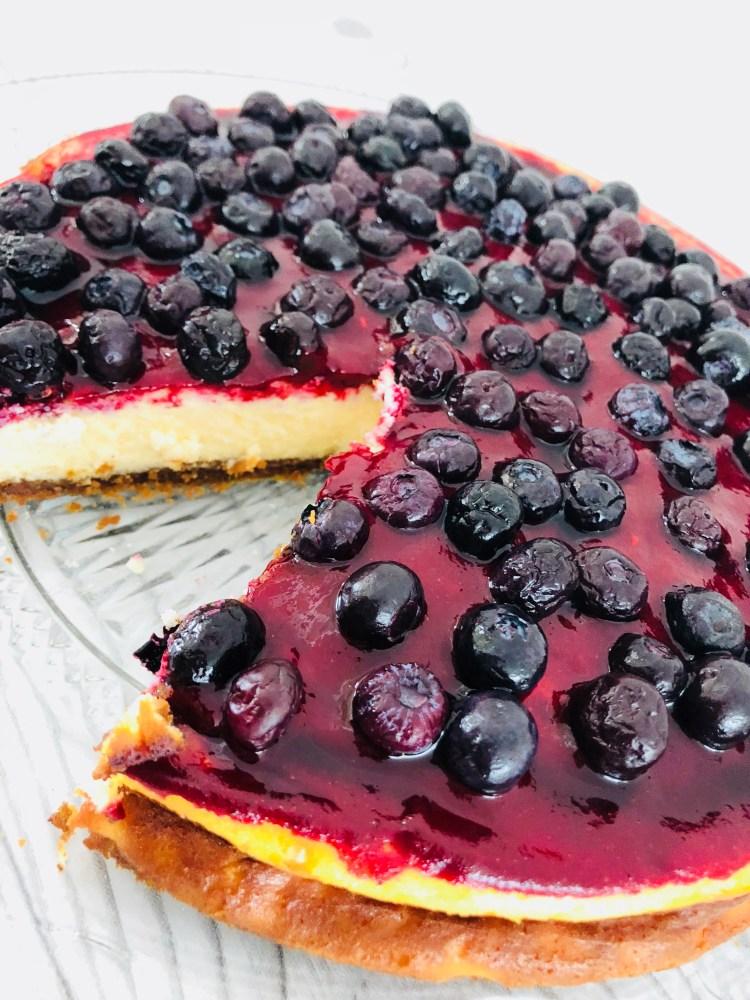 Cheesecake recept kaastaart maken - gebakken - speculaas - PinGetest