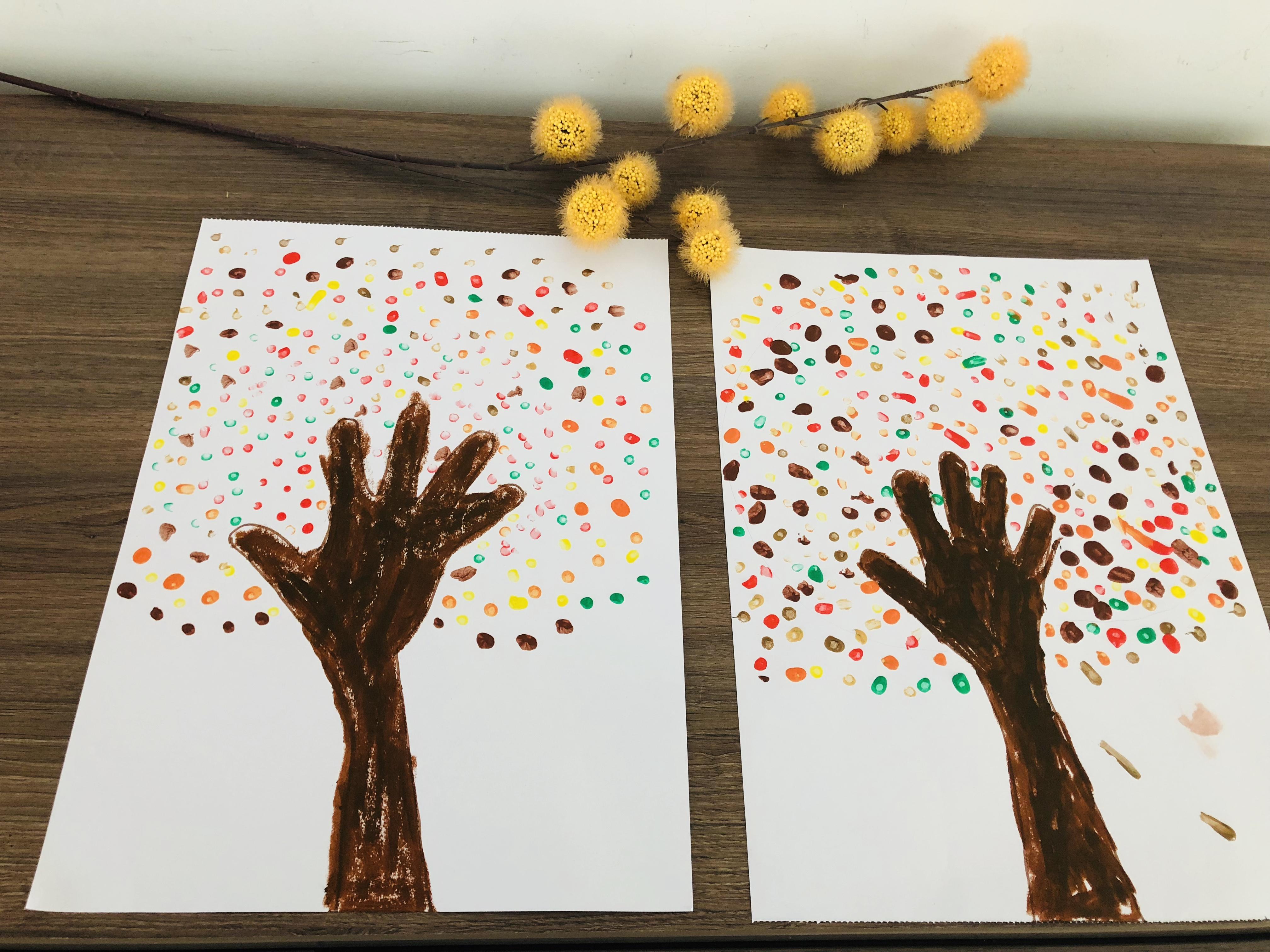 Fonkelnieuw Herfstboom maken - Thema herfst knutselen | PinGetest PG-04