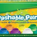 Crayola Afwasbare Verf - 10 Flessen