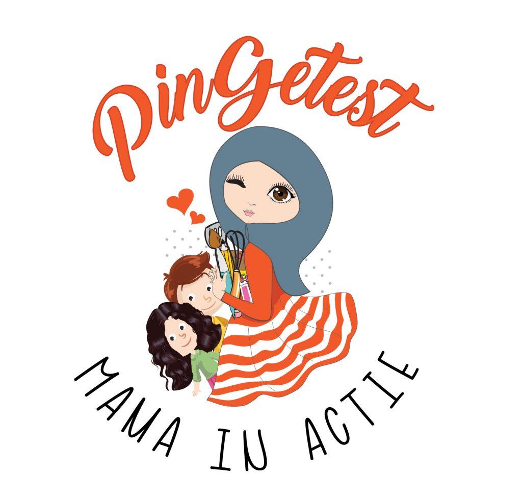 PinGetest mama in actie Logo