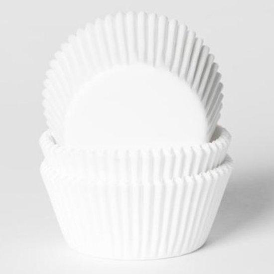 House of Marie Cupcake Vormpjes Wit - pk/500