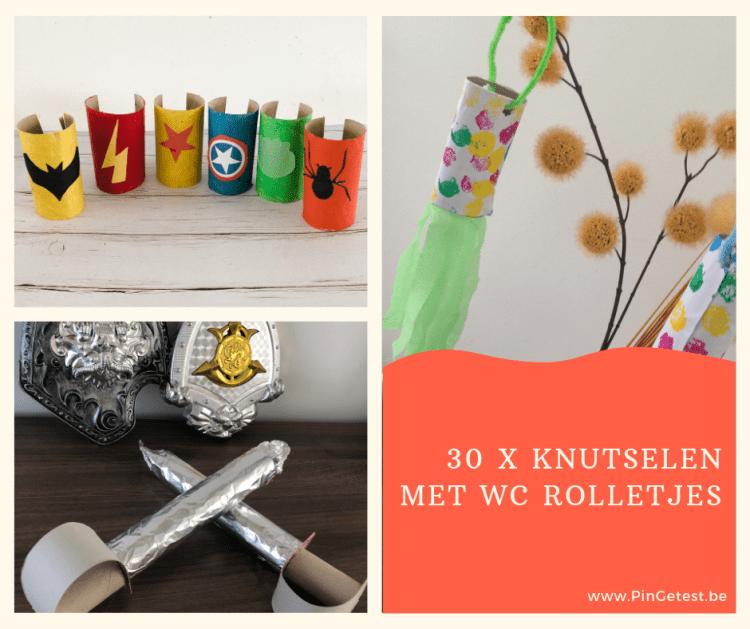 30 x Knutselen met WC Rolletjes - knutselen met kinderen - lege rolletjes - karton
